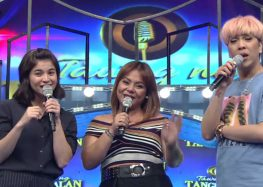 Former The X Factor UK contestant Ivy Grace Paredes tries her luck in Tawag ng Tanghalan
