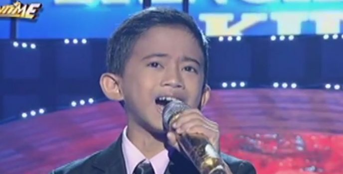 Jhon Clyd Talili from Surigao del Sur is Tawag ng Tanghalan Kids Champion!