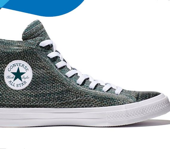 Chuck Taylor All Star x Nike Flyknit: a new perspective from Converse!