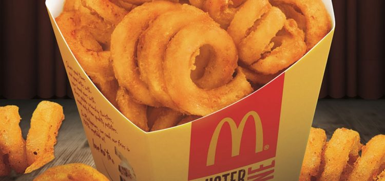 McDo Twister Fries is back!