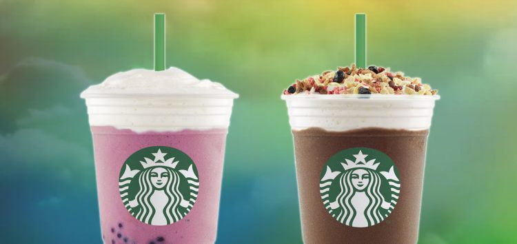 Excite your taste buds with the two new flavors of Starbucks