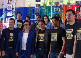 Coco Martin welcomes former Kapuso prime actors Aljur and Louise on FPJ's Ang Probinsyano