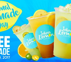 Johnn Lemon to give special treats on National Lemonade Day
