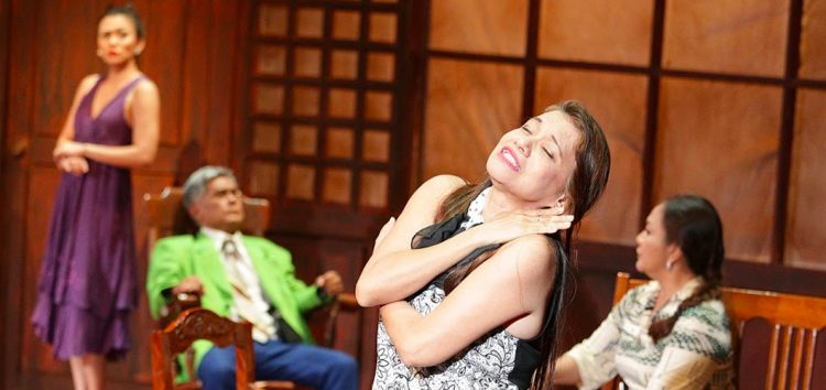 Catch the final week of UP Playwright's Theatre presentation of Nick Joaquin's Fathers and Sons