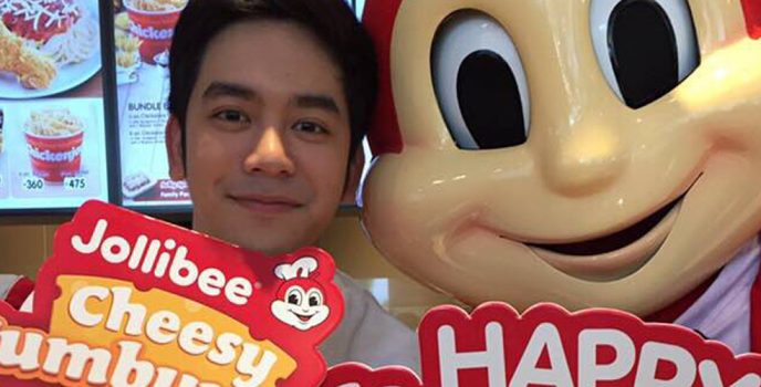 Jollibee celebrates National Cheeseburger Day with Joshua Garcia, Teejay Marquez and Kimpoy Feliciano