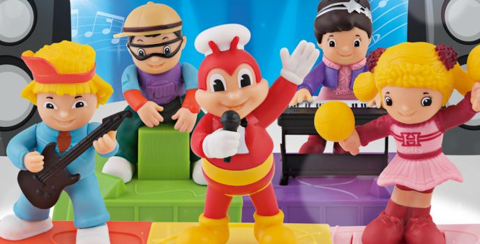 Jollibee and Friends hit the concert stage with the Jolly Musical Band