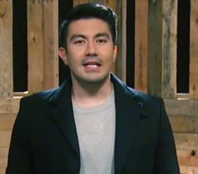 "Game show debonair Luis Manzano is back with a new show, ""I Can See Your Voice"""