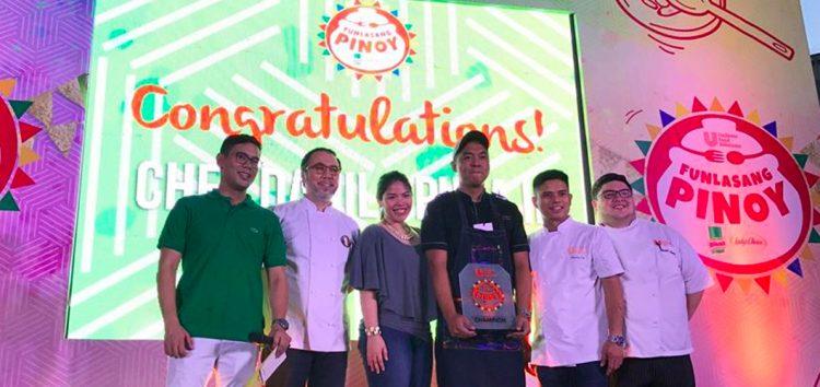 Chef Danilo Puga II's Octopus Sisig wins Unilever's Funlasang Pinoy Twist Fest 2017