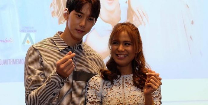 """Devon Seron works with K-Pop actors Kim Hyun Woo and Jin Ju Hyung in """"You With Me"""""""