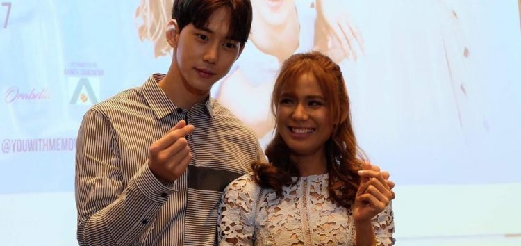 "Devon Seron works with K-Pop actors Kim Hyun Woo and Jin Ju Hyung in ""You With Me"""
