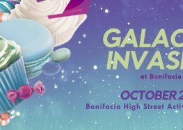 Experience superb intergalactic Halloween treats only on Bonifacio Global City