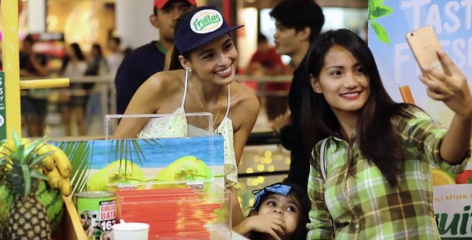 Fruitas celebrates 15 years with a fan meet with Jasmine Curtis-Smith at SM Manila