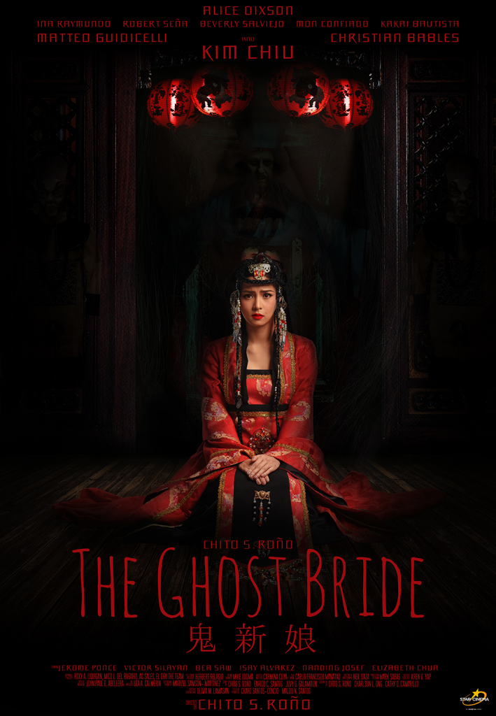 The Ghost Bride Will Be Showing On November 1 In All Cinemas Nationwide Under Star Cinema Kim Joined By Matteo Guidicelli Rio Locsin