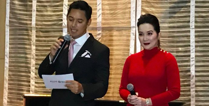 Smart and PLDT welcome Queen of All Media Kris Aquino to her new HOME