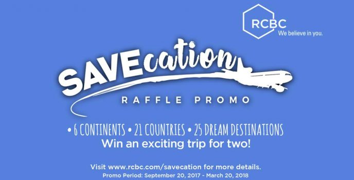 "Experience a ""Savecation"" you always wanted with RCBC"