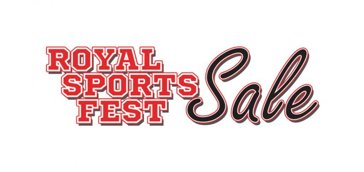 Catch the Royal SportsFest Sale at the YWCA Gym on Oct 14-18