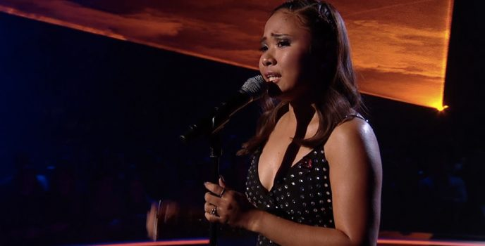 Pinay singer Alisah Bonaobra officially  ended her X Factor journey