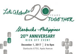 Starbucks pays tribute to Filipino craftsmanship on its 20th Anniversary