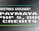 Php 5, 000 worth of PayMaya credits are up for grabs!