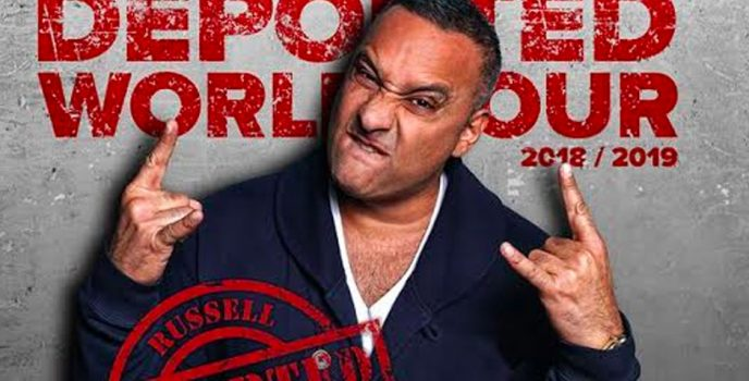 Russell Peters is back in Manila for Deported World Tour!