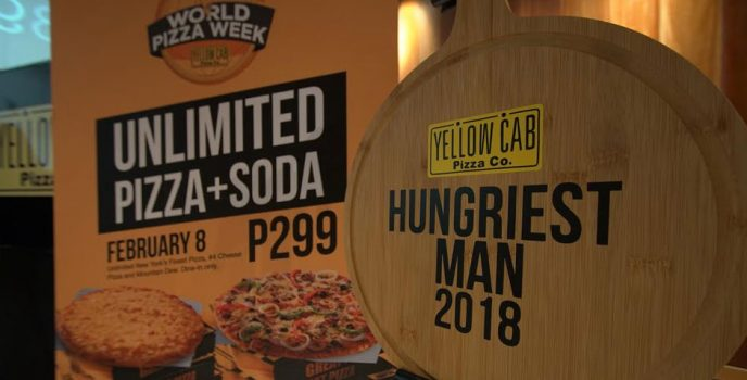 Yellow Cab turns World Pizza Day to a week-long event starting Feb. 4