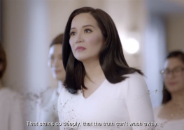 """Ariel takes a bolder stand with Kris Aquino in facing the """"stains"""" in the society"""