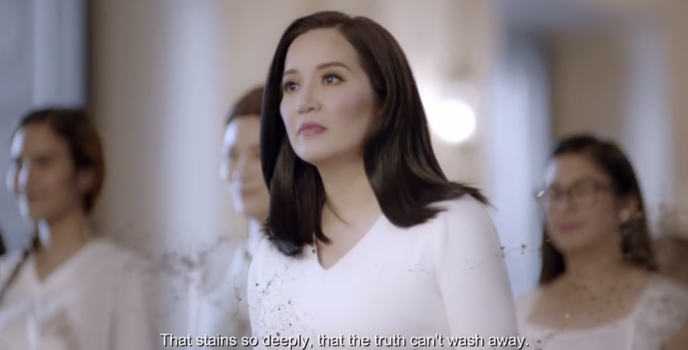 "Ariel takes a bolder stand with Kris Aquino in facing the ""stains"" in the society"
