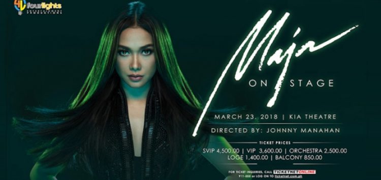 "Maymay Entrata joins Maja Salvador on ""Maja On Stage"" Concert on March 23"