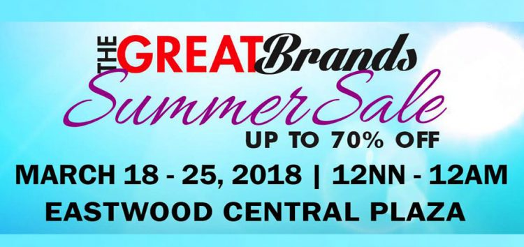 Striptop Outlet Store's The Great Brands Summer Sale