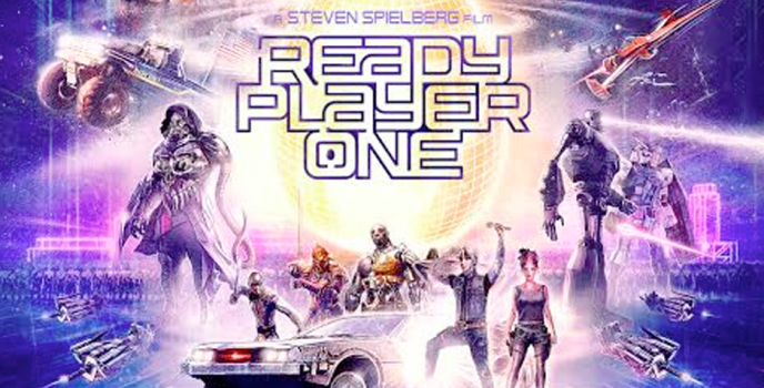 """""""Ready Player One"""" official poster is out!"""