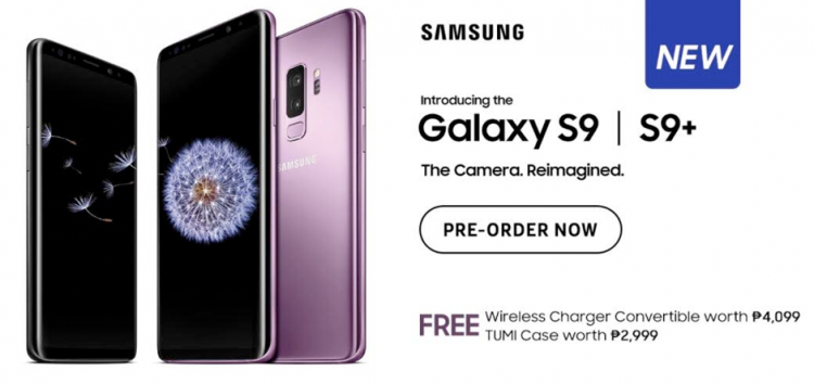 Samsung Galaxy S9 and S9+ are now available in Lazada Philippines!