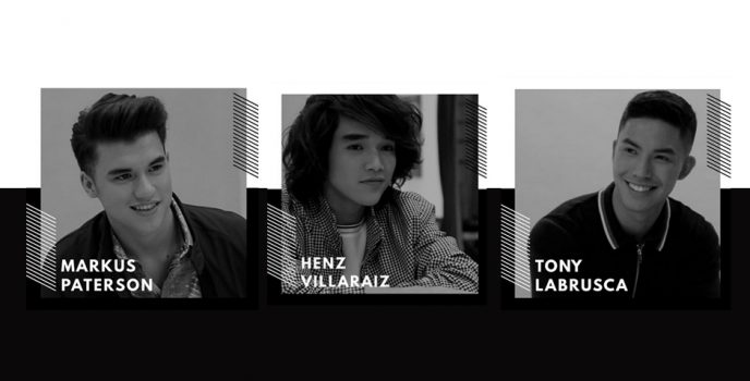 Tony, Markus and Henz: From boy band hopefuls to certified Star Magic Circle 2018 artists