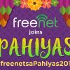freenet spreads good vibes at the Pahiyas Festival in Lucban, Quezon
