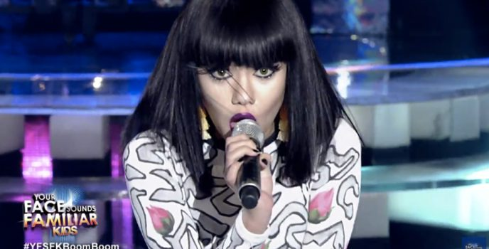 Krystal Brimner's transformation of Jessie J wins 3rd week of Your Face Sound Familiar Kids S2