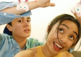 MayWard enjoys Vivo V9's adorable AR Stickers