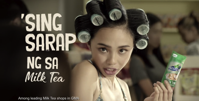 """Push Mo Yan Tea!"" –  Maymay Entrata is the new endorser of Nestea Milk Tea"