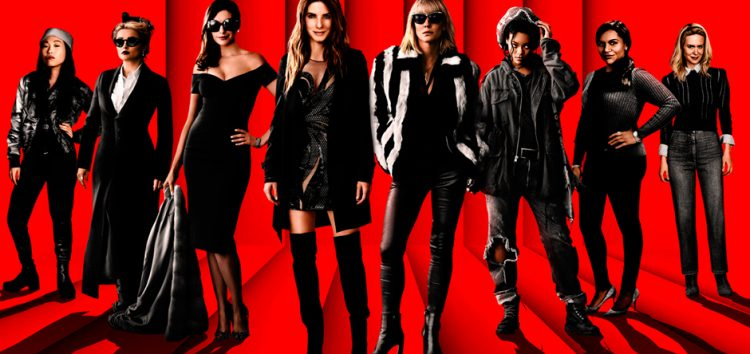 LOOK: Oceans 8's official poster!