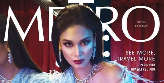 Queen Pia graces Metro May 2018 anniversary issue