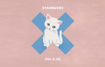 Starbucks and French Fashion House Paul & Jo bring Gipsy the cat in the Philippines!
