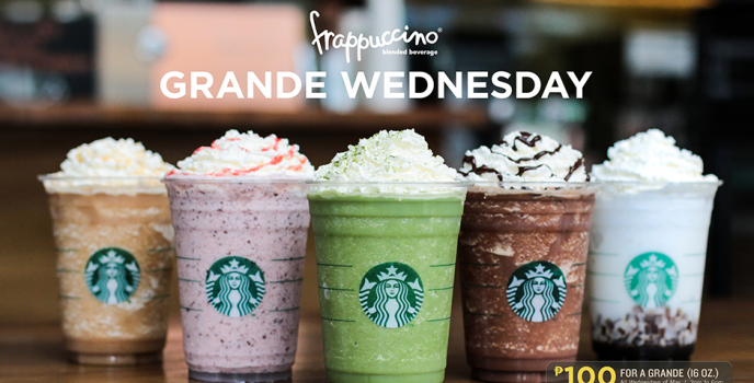 Starbucks Grande Wednesday is back this May!