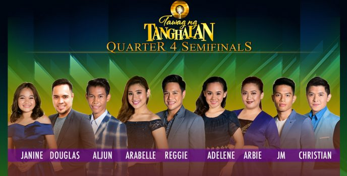 Tawag ng Tanghalan Season 2 Quarter 4 Semi-Finals kicks off!