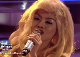 Esang de Torres wins the 5th week of Your Face Sounds Familiar Kids after transforming to Christina Aguilera
