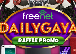 "Get amazing prizes and rewards every day with freenet's ""Dailygaya"" promo!"