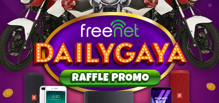 """Get amazing prizes and rewards every day with freenet's """"Dailygaya"""" promo!"""