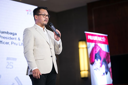 Pru Life UK Senior Vice President & Chief Marketing Officer Allan Tumbaga