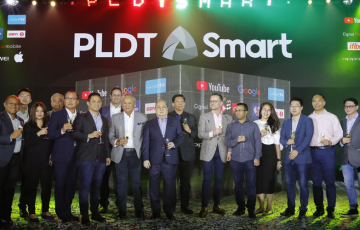 PLDT, Smart unlock amazing digital experiences powered by PH's fastest network